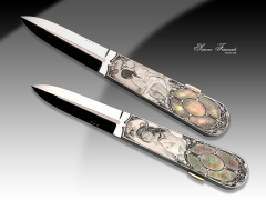 Custom Knife by Antonio Fogarizzu