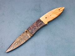Custom Knife by Vernie Reed