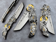 Custom Knife by Sergio Consoli