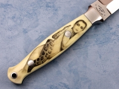 Custom Knife by Paolo Gidoni