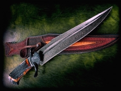Custom Knife by Claudio Sobral