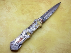 Custom Knife by Rick Genovese
