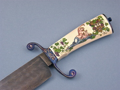 Custom Knife by Bailey Bradshaw