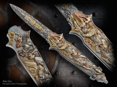 Custom Knife by Alex Gev